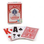 Baralho Bicycle Lovision - Vermelho B+