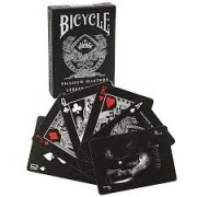 Baralho Bicycle Master Edition Shadow - Legacy Edition  B+