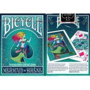 Baralho Bicycle Mermaid - Azul
