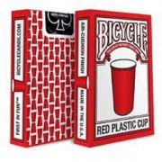 Baralho Bicycle  Plastic Cup Vermelho M+