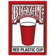 Baralho Bicycle  Plastic Cup Vermelho R+