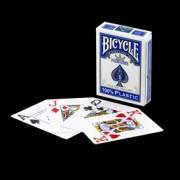 BARALHO BICYCLE PRESTIGE AZUL- 100% plastic - POKER
