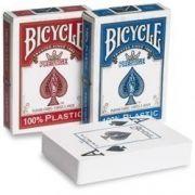 BARALHO BICYCLE PRESTIGE AZUL OU VERMELHO- 100% plastic
