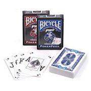Baralho Bicycle Pro Poker Peek Azul ou vermelho R+