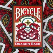 Baralho Bicycle red Dragon Back R+ d