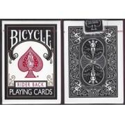 BARALHO BICYCLE RIDER BACK  BLACK -PRETO