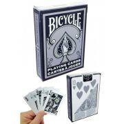 Baralho Bicycle 1128  silver & black - Baralho raro  B+