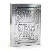 Baralho Bicycle Steampunk Silver B+