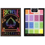 Baralho Bicycle Spectrum rider back Arco-iris - Rainbow - Premium b+