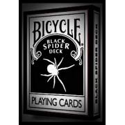 BARALHO BICYCLE SPIDER BLACK