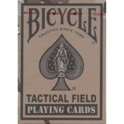 Baralho Bicycle Tactical Field azul B+