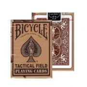 Baralho Bicycle Tactical Field azul R+