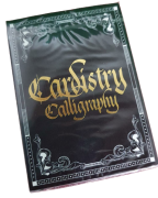 Baralho Cardistry Calligraphy Gold Foil