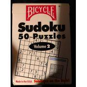 baralho com 50 Sudoku  sendo 25 fáceis e 25 difíceis