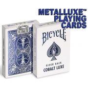 Baralho Metalluxe Cobalt Luxe