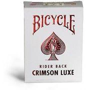 Baralho Metalluxe Crimson Luxe M+