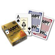Baralho poker Wpt Gold Vermelho 100% Plástico M+