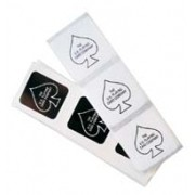Adesivo Bicycle Deck Seals Black e White  R+