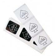 Adesivo Bicycle Deck Seals Black e White  M+