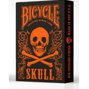 Bicycle skull edição limitada  cor laranja B+