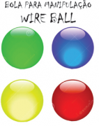 BOLA PARA MANIPULAÇÂO - WIRE BALL - ED MAGIC