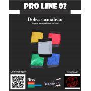 Bolsa Camaleão Coleção Magica profissional n 02 - Magic Proline B+