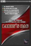 BOLSA DE TROCAS TRANSPARENTE by Larry - LARRY BAG