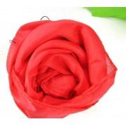 Botão de rose em lenço B+