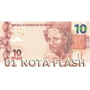 BURNING MONEY - NOTA FLASH 10 REAIS