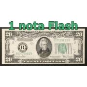 BURNING MONEY - NOTA FLASH 20 Dollares