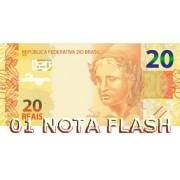 BURNING MONEY - NOTA FLASH 20 REAIS