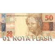 BURNING MONEY - NOTA FLASH 50 REAIS