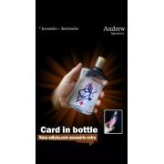 Card In Bottle By Andrew