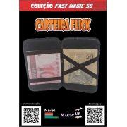Carteira Flick Luxo Magic Up - Marrom - Coleção Fast Magic N°58 B+