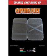 Carteira Flick Luxo Magic Up - Preta - Coleção Fast Magic N°58 D+