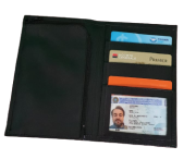 Carteira le Paul Wallet leather couro puro - Magic UP
