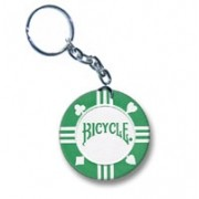 Chaveiro Poker Bicycle Verde M+
