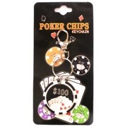 Chaveiro Poker Chip M+