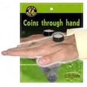 Coins Through Hand - Moedas que atravessam a mão R+