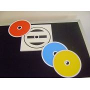Color Changing CD- PVC
