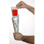 COMEDY GLASS - IN PAPER CONE