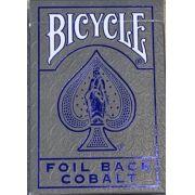 Baralho Bicycle Foil Back Cobalt