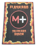 FLASH PAD - caderno papel flash c/ 20 folhas thick ou thin