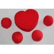 CORAÇÃO DE ESPONJA - HEART SPONGE - espuma