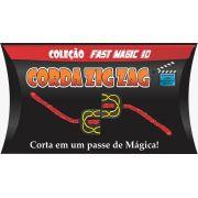 Corda Zig Zag cor verde - Coleção Fast Magic N 10