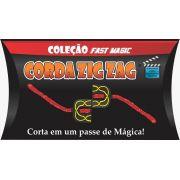 Corda Zig Zag mini  cor azul- Coleção Fast Magic Nº 10 R+