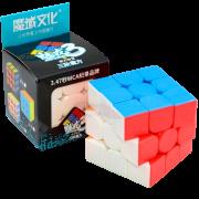 Cubo Mágico Profissional 3x3x3 Moyu Meilong Stickerless B+