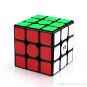 Cubo Magico Profissional QiYi Sail W 3x3x3 Borda Preta B+ d