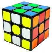 Cubo Magico Profissional QiYi Mo Fang Ge 3x3x3 Borda Preta R+