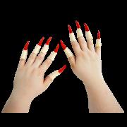 Dedos de bruxa - unhas R+